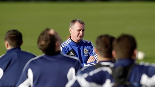 Michael O'Neill is looking for his first win as manager of Northern Ireland