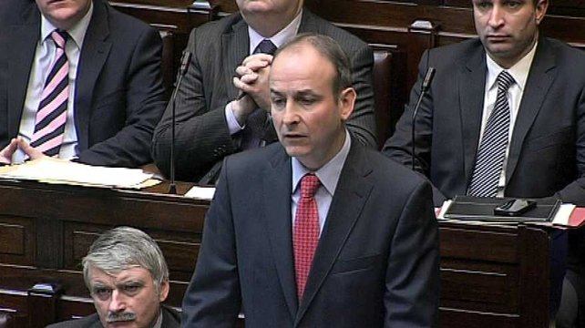 Micheál Martin said that 5,000 people would be affected the move