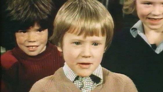 Children appearing on 'The Live Mike', February 1981, discuss Valentine's Day.