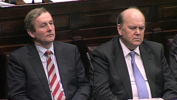 Michael Noonan (right) said he regretted the abruptness of the way the news was communicated to staff