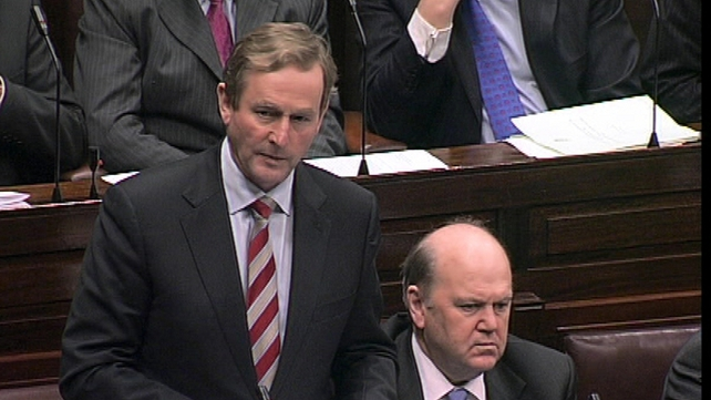 Fine Gael are the top party in the country, according to new poll