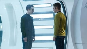 """You gotta be kidding me?!"" Benedict Cumberbatch and Chris Pine in a scene from the Star Trek reboot Star Trek: Into Darkness"