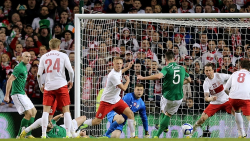 The Republic of Ireland were 2-0 winners against Poland in their last match