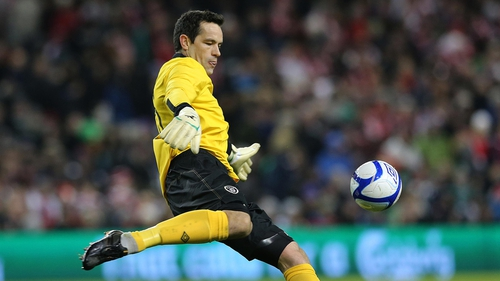 David Forde got over his shaky start to impress and keep a clean sheet for Ireland on Wednesday