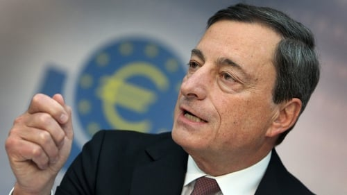 Mario Draghi said the ECB will re-examine the promissory note transaction