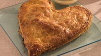 Siúcra's heart-shaped Salmon en croûte - Have a unique Valentine's dinner with Siúcra's heart-shaped Salmon en croûte recipe. This easy to make yet impressive French recipe is a sure fast way to make your loved one fall head over heels.
