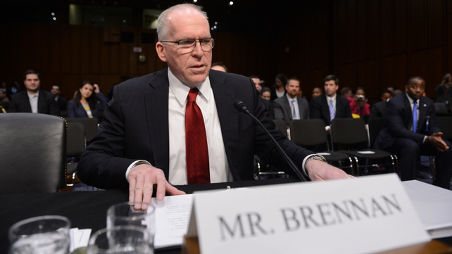 John Brennan is appearing before a congressional intelligence committee