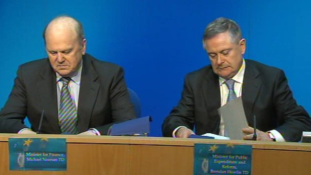 Minister for Finance Michael Noonan said the Government had achieved its objectives in the negotiations with the ECB