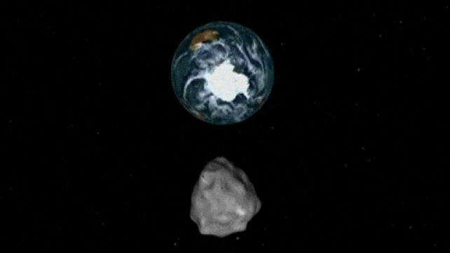 Asteroid 2012 DA14 was discovered by Spanish astronomers last February