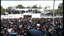 Funeral of assassinated opposition leader in Tunisia