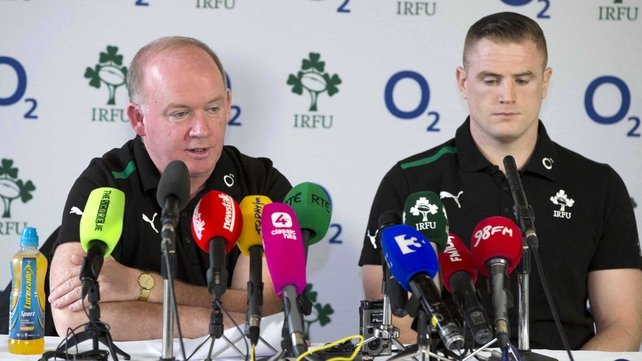 Declan Kidney has not made any changes to the side that beat Wales