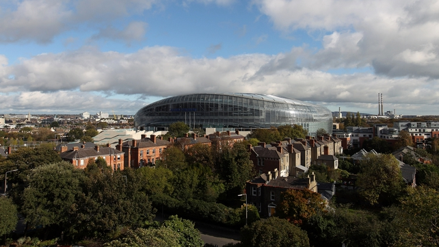 Ireland play England at 3pm on Sunday
