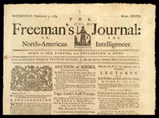 250th anniversary of Freeman's Journal
