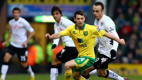 Wes Hoolahan's Norwich overcame bottom of the table Reading
