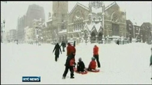 Northeast US hit by major snow storm