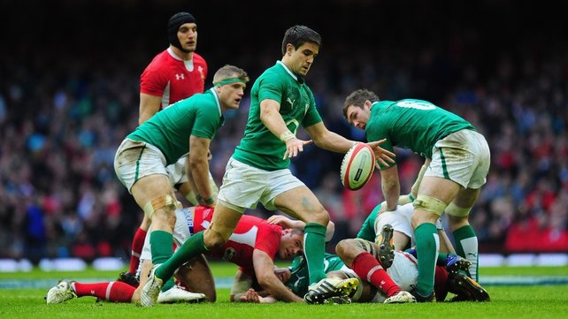Conor Murray is one of the in form players for Ireland