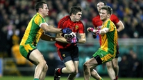 A disappointed Down manager James McCartan admitted Donegal were the better team on the night