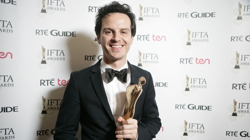 Andrew Scott 'surprised' by plot twists on Sherlock