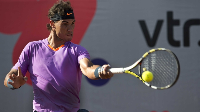 Rafael Nadal has yet to drop a set in  Santiago,
