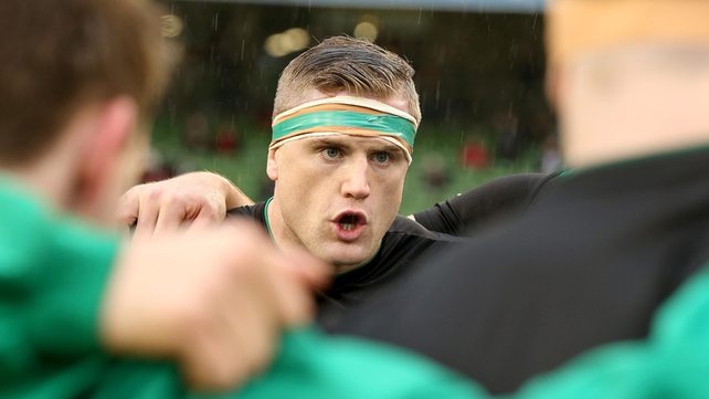 Jamie Heaslip has called on his team-mates to put on a big display for supporters