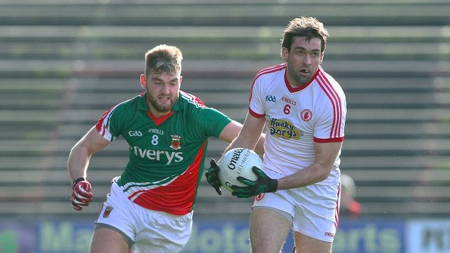 Tyrone edged out Mayo in Castlebar