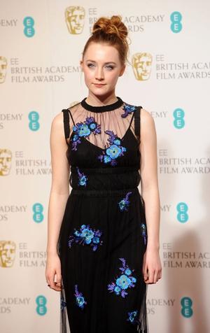 Irish actress Saoirse Ronan
