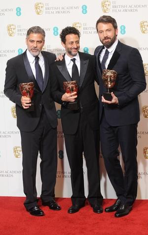George Clooney, Grant Heslov and Ben Affleck