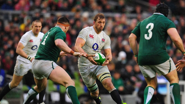 Chris Robshaw was superb in Dublin