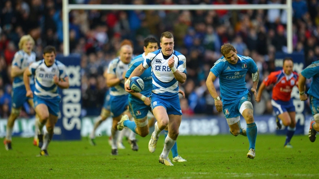 Stuart Hogg admits that his kicking chances may be limited with Scotland for the time being