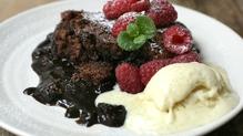 Monica's Magic Molten Chocolate Pudding