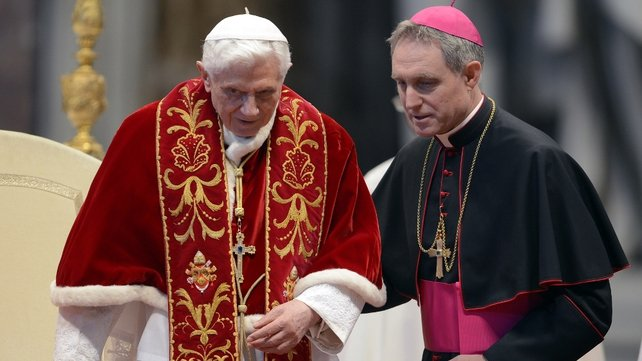 Pope Benedict said he is stepping down for health reasons