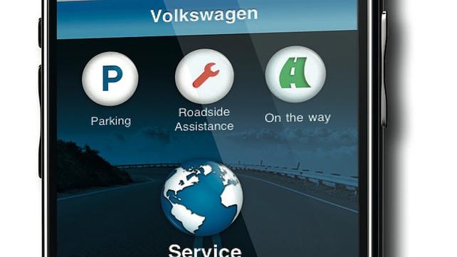 VW service app