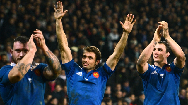 Vincent Clerc is back in the France squad
