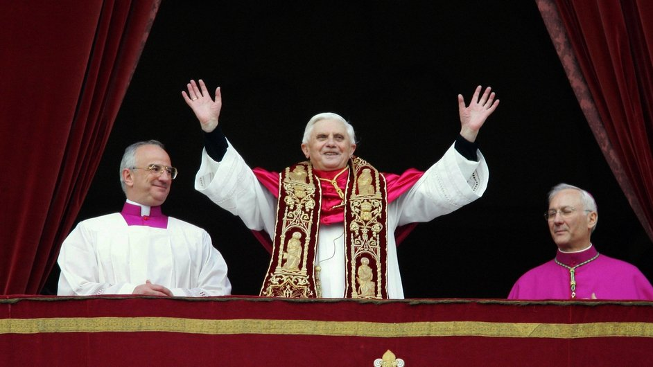 Habemus Papam! Joseph Ratzinger became Pope at the age of 78 in April 2005