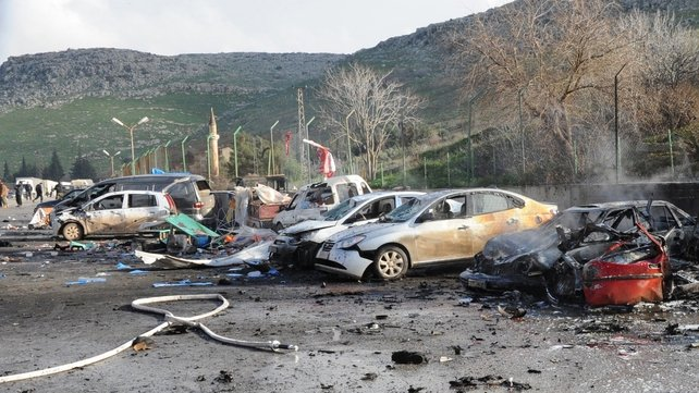 At least 28 people were wounded in the explosion, 13 of them seriously