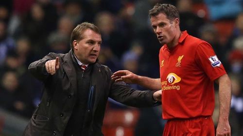 Jamie Carragher has forced his way back into the Liverpool team in recent weeks