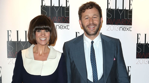 Chris O'Dowd with his wife Dawn O'Porter