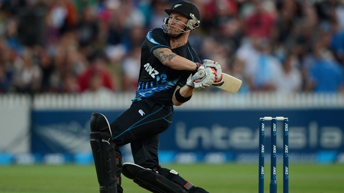 McCullum the star man for the hosts