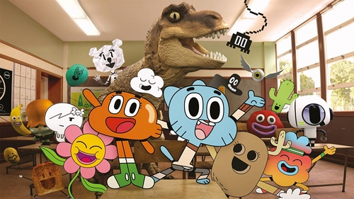 The Amazing World of Gumball - An Irish co-production