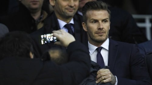 David Beckham is hoping to get an MLS Miami team off the ground