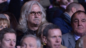 Billy Connolly was not his usual jovial self at Celtic Park