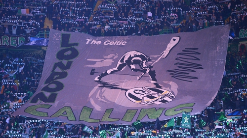 Celtic fans were looking past Juventus and to the London final of this year's competition