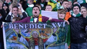 Perhaps Pope Benedict XVI quit the Vatican to catch a few European nights at Parkhead