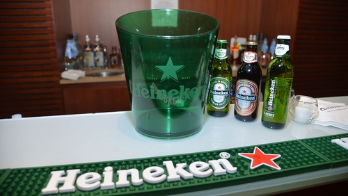 Heineken's revenue grew by just 0.1% as price rises failed to offset sharp declines in overall volumes
