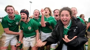 The Ireland women's Six Nations team defeated England for the first time