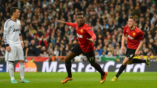 Danny Welbeck headed United in front