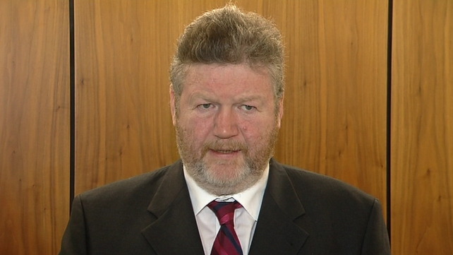 James Reilly said he wanted to see survival rates for oesophageal cancer increase