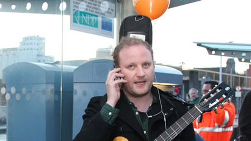 Fred Cooke was live on air from the red Luas line this morning