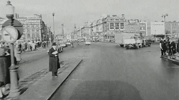 View of O'Connell Street, Dublin 1966 (From Westmoreland Street)