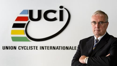 Pat McQuaid has held the post of president of the UCI since 2006
